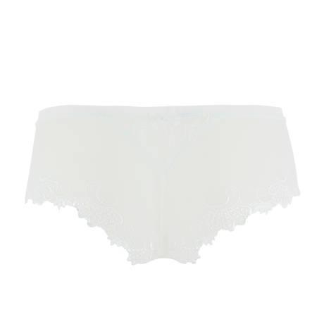 Shorty Dressing Floral Blanc