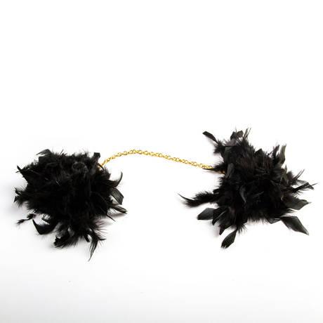 Menottes en plumes Les Burlesques
