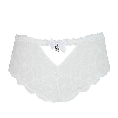 Shorty Soir de Venise Blanc