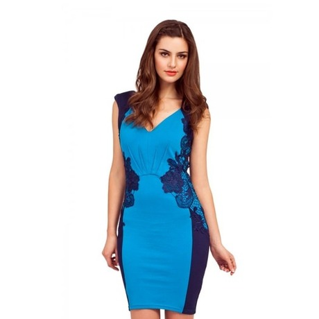 Robe Lace Panel Bodycon