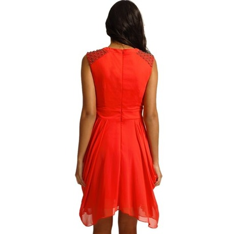 Robe 23686-24161 Rouge