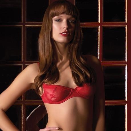 Soutien-gorge balconnet Chaperon Rouge Rouge
