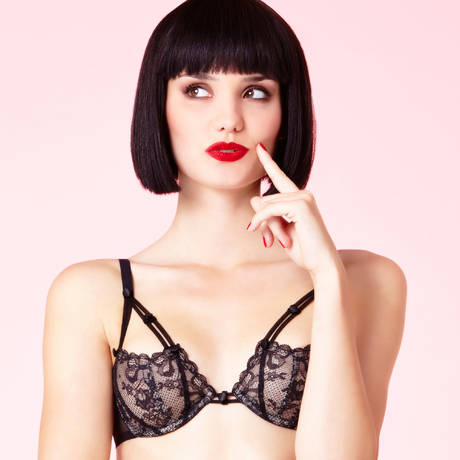 Soutien-gorge armatures So Shocking Noir