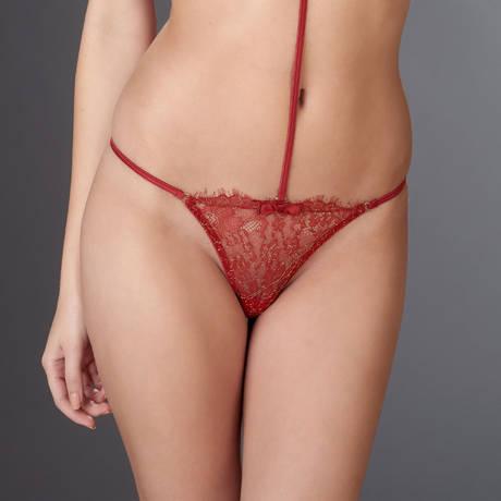 Mini string Jardin Impérial Rouge/Or