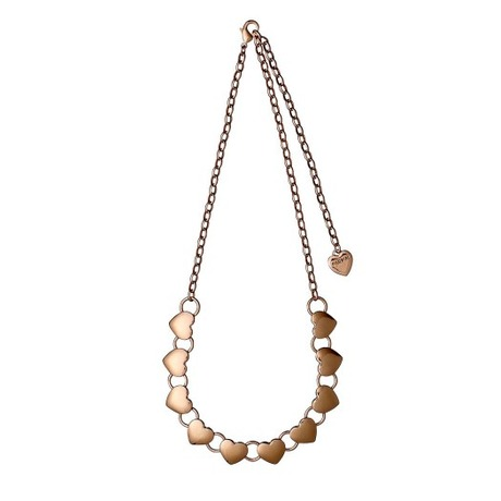 Collier Coeur Or rose