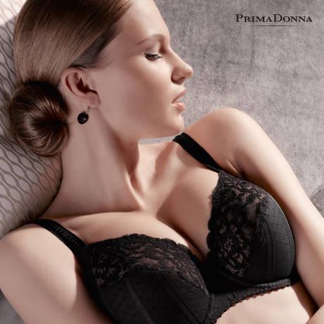 Soutien-gorge armatures emboîtant Couture Noir