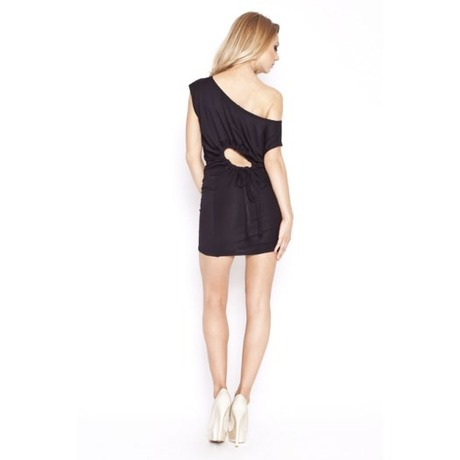 Quontum Hole Dress Noir
