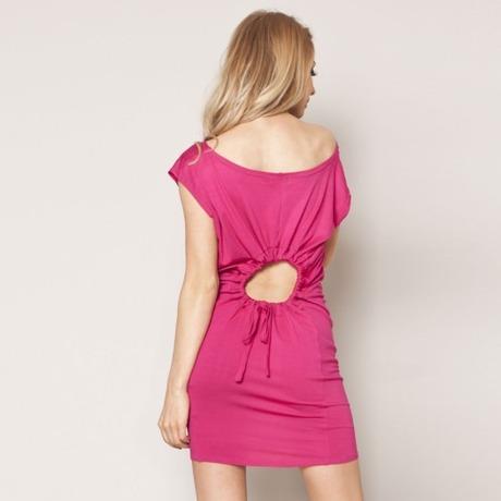 Quontum Hole Dress Rose