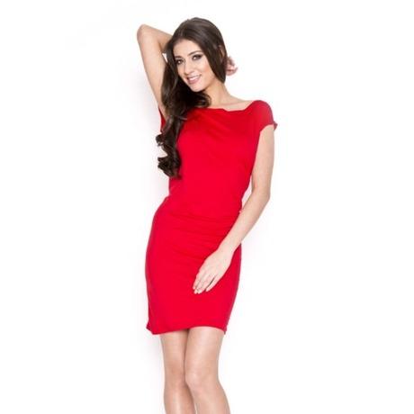 Quontum Hole Dress Rouge