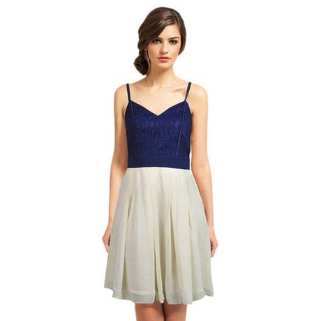 Robe 25398-25622 Beige/Bleu