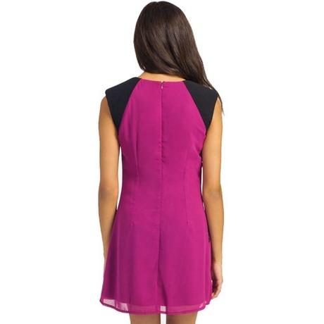 Robe tunique 24148 Fuchsia