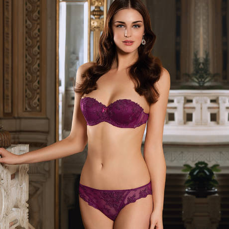 Slip séduction Plaisir Guipure Dahlia Perse