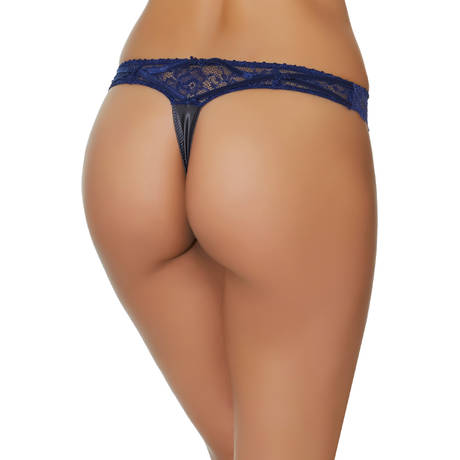 Tanga Exquise Marquise Only Blue