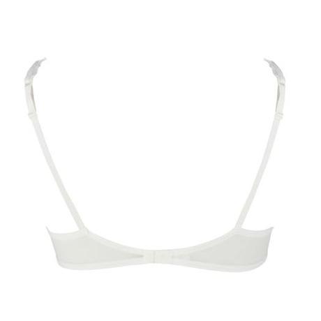 Soutien-gorge armatures emboîtant Daphné Blanc cassé