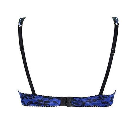 Soutien-gorge coques Vamp en Douce Bleu Glam