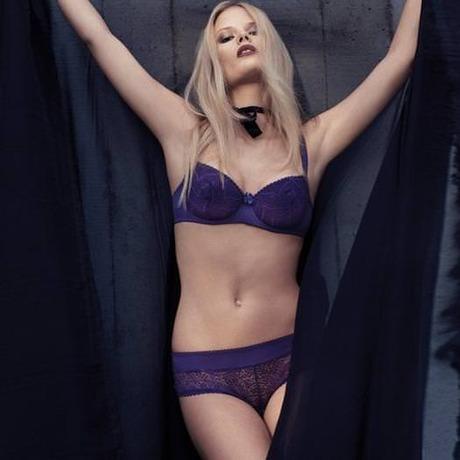 Soutien-gorge corbeille Précieuse Violet