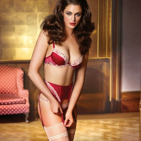 Soutien-gorge push-up Silk Exception Taille Rubis