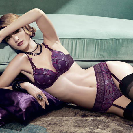 Soutien-gorge plunge Swinging Night Opium