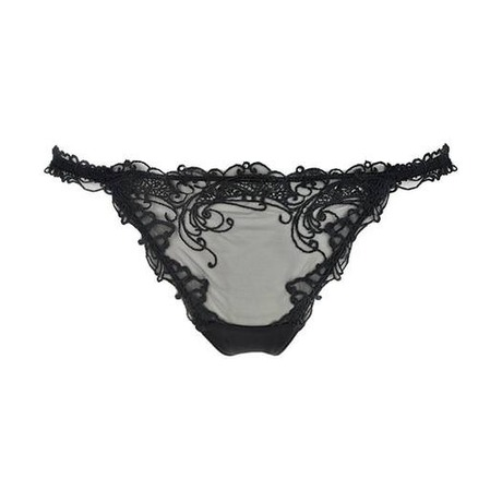 Mini string sexy Soir de Venise Noir