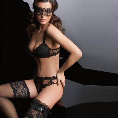 String sexy Soir de Venise Noir