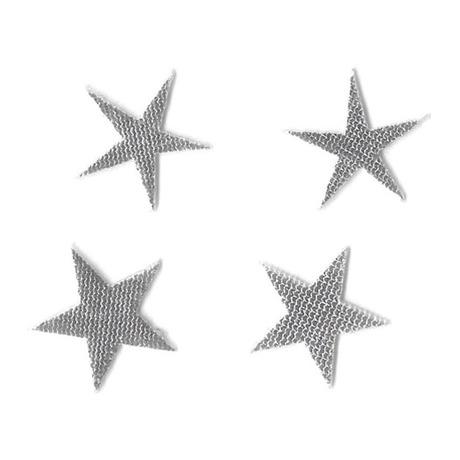 Tattoo 3D Star Argent