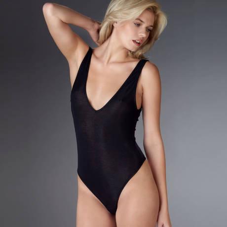 Body string col V Bellevue Noir