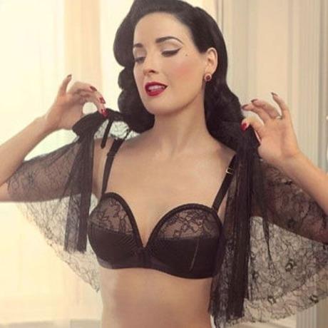 Soutien-gorge overwire Her Sexellency Noir