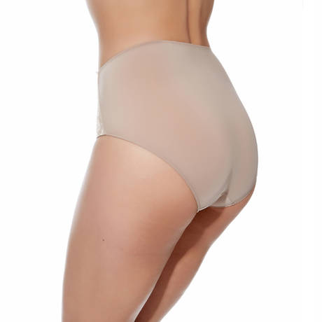 Culotte ventre plat Eglantine Marron