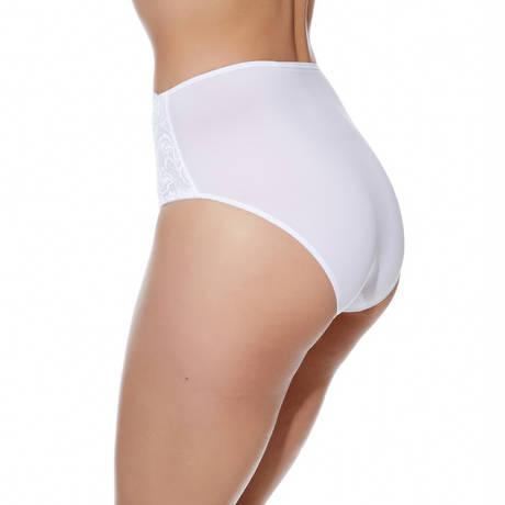 Culotte ventre plat Eglantine Blanc