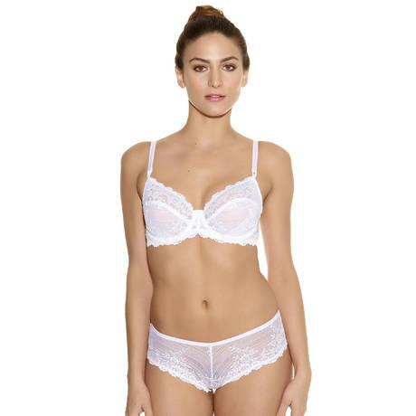 Soutien-gorge armatures Embrace Lace Blanc