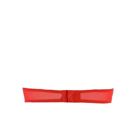 Soutien-gorge bandeau mousse Noeuds et Merveilles Rouge