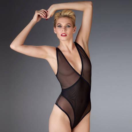 Body string Mise à nu Noir