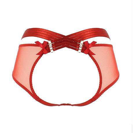 Culotte ouverte Bondage-Belle Signature Rouge