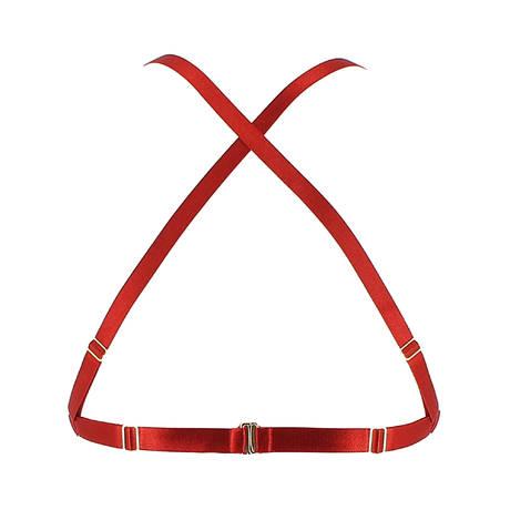 Soutien-gorge triangle Cabaret Signature Rouge