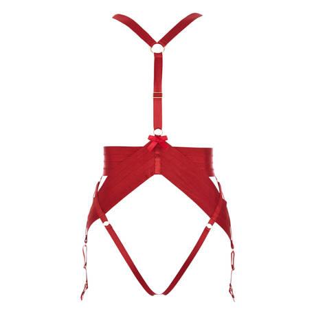 Harnais porte-jarretelles Asobi Rouge