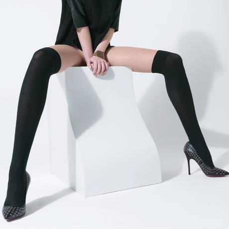 Collant Alexander Noir/Beige