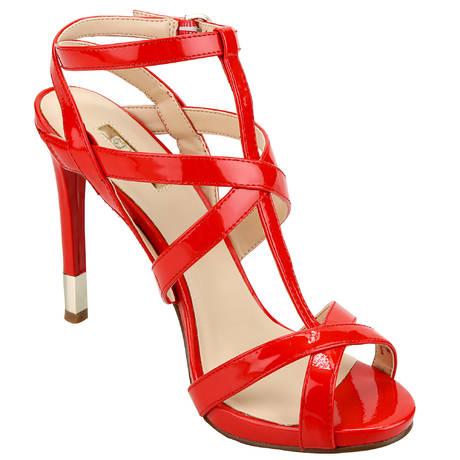 Sandales Cacia Rouge
