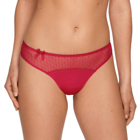 String plumetis Divine Deep Red