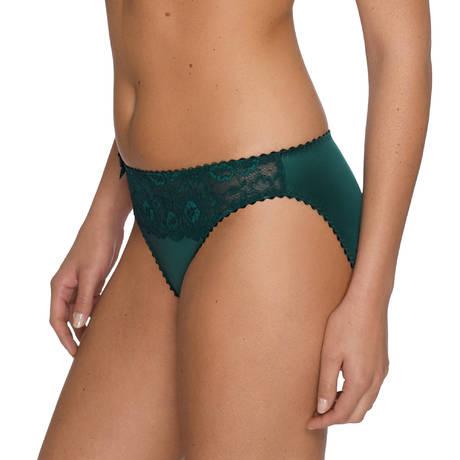 Slip brésilien dentelle Couture Jewel Green
