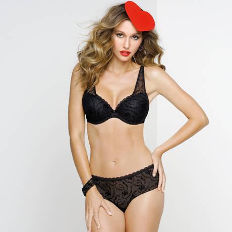Soutien gorge à balconnets Freya Jolie - bonnet GG à bonnet J Un incontournable de chez Freya. Composé majoritairement en dentelles, ce classique vous .