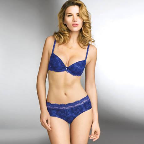 Soutien-gorge coques Sensuality Rose Bleu