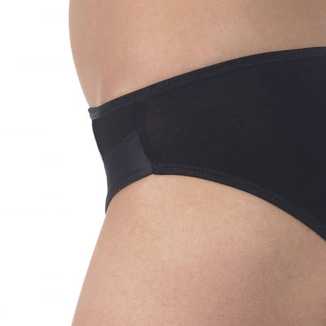 Culotte en coton fil d'écosse Noir
