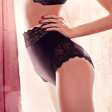 Culotte haute galbante Contouring Sensation Noir