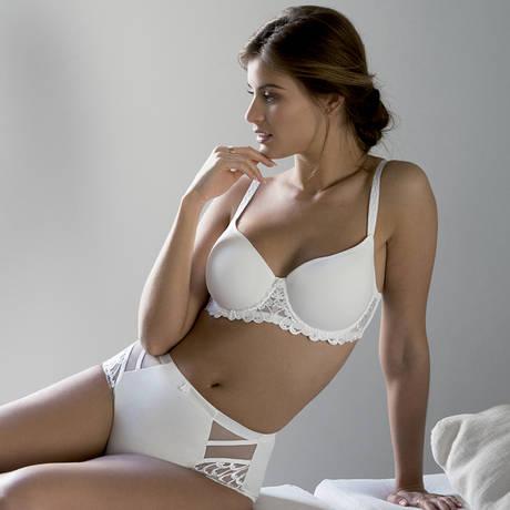 Culotte haute Narcisse Ivoire