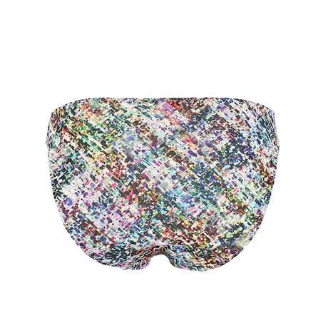 Slip charme Fan de Tweed Multicolore