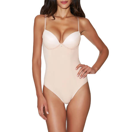 Body plunge coques galbant Onde Sensuelle Nude