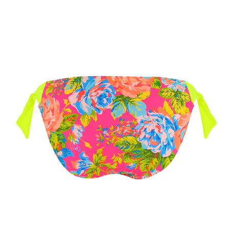 Maillot de bain slip ficelle Pool Party Yellow Sunshine