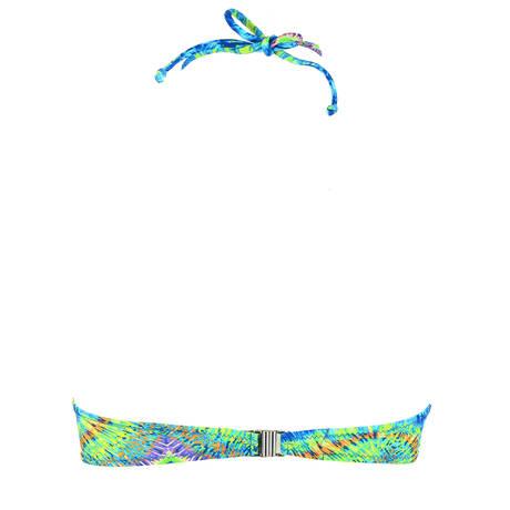 Maillot de bain bandeau coques La Péruvienne Bleu Pérou