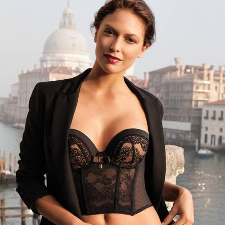 Bustier Isabella Noir