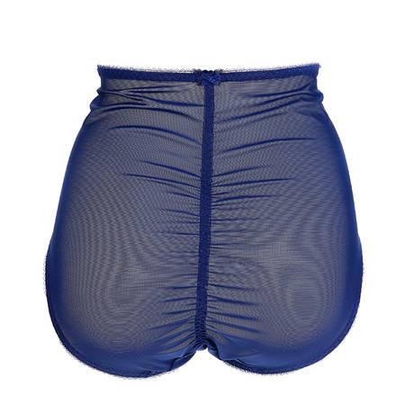 Culotte haute galbante Sheer Witchery Bleu Bleu Marine/Turquoise